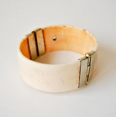 Antique Bone Cuff Bracelet