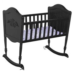 DaVinci Chloe Rocking Cradle in Ebony Black - M3303EP