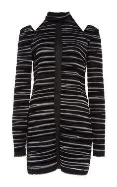 Burnout Crepe Long Sleeve Top by PROENZA SCHOULER for Preorder on Moda Operandi