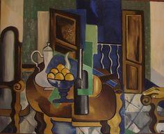 """Saatchi Art Artist maria torregrosa; Painting, """"Interior con nararanjas"""" #art"""