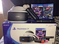 Sony PlayStation VR Launch Bundle VR Headset #Sony