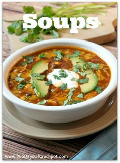 365 Days of Slow Cooking: Soups