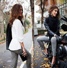Very Stylish En Vie Blouse, Pants and Short Coat by Endoorfin