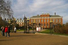 Kennsington Palace - London  Home of many of the Royal family, including Queen Victoria, Charles and Di, Princess Margaret, etc.