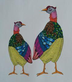 Mindfull kleuren Kippen