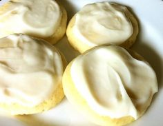 Lime Cookies with Cream Cheese Frosting