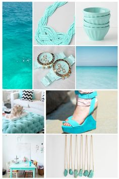 TURQUOISE! SO SUMMER!