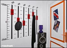 Decorating theme bedrooms - Maries Manor: Music bedroom decorating ideas - rock star bedrooms - music theme bedrooms -