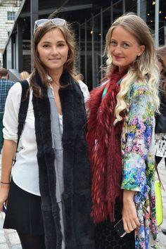 Fun faux-fur scarves Fur Scarves, Faux Fur, Trends, Fun, Jackets, Color, Fashion, Down Jackets, Colour