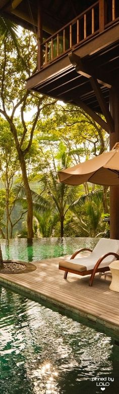 Relax at the pool &.. COCOON | pool design inspiration | villa design | hotel design | bathroom design | design products | Dutch Designer Brand COCOON | COMO Shambhala Estate, Bali