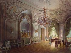 Luigi Premazzi  Mansion of Baron A.L. Stieglitz. The Concert Hall