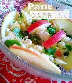 In Cucina con Mamma Agnese: Insalata, Pane e Caprino