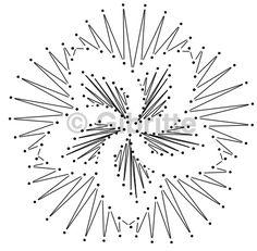 C'est en voyant un tout petit napperon au crochet, que cette idée m'est venue. Il suffit de passer un fil au coeur du napperon puis de serrer et voilà un volume qui se créait (plus le fil est loin du centre, plus la fleur aura de volume). On peut varier... Spanking Art, Bobbin Lacemaking, Embroidery Cards, Bobbin Lace Patterns, Charts And Graphs, Lace Jewelry, Diy Christmas Cards, Needle Lace, Lace Making