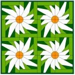 Daisy plus lots of other foundation piecing patterns