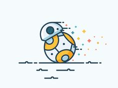Everybody's  new favourite character!?  Created using free Star Wars icons  Worth checking out:  Icon Utopia |  Icon Shop |  Pinterest |  Instagram