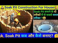 Soak pit construction for house | Soak pit construction | Soak pit construction in india | Soak pit - YouTube Septic Tank Design, Construction, House Design, India, Youtube, Building, Goa India, Architecture Design, House Plans