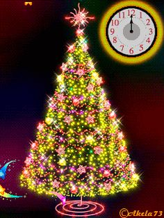 christmas tree animated Happy Holidays to everyone on Pinterest