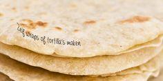 Hoe kan je zelf wraps of tortilla's bakken? Met basisrecept en recept voor tortilla's van maismeel.