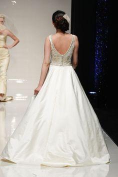 Alan Hannah Wedding Dress - Bettie back of Gown