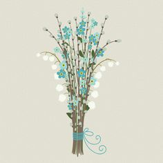 Create a bunch of spring flowers in Adobe Illustrator - free tutorial on Tuts+