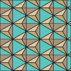 B13-2 Like this? Get the Book! Geometrical Tile Patterns: 1,000 Tiles for Art, Graphic Design and Craftwork at http://www.lulu.com/shop/jay-friedenberg/geometric-tile-patterns/paperback/product-21072481.html. Jay Friedenberg.
