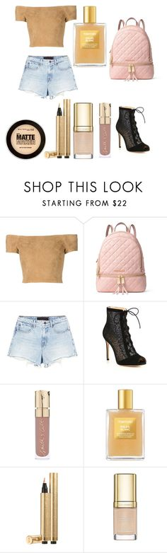 """""""Neutres à l'école"""" by tomboyllama995 on Polyvore featuring Alice + Olivia, MICHAEL Michael Kors, Alexander Wang, Gianvito Rossi, Smith & Cult, Tom Ford, Yves Saint Laurent, Dolce&Gabbana and Maybelline"""