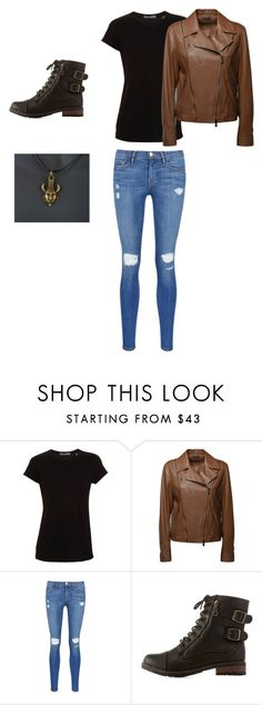 """Girl Dean Winchester outfit"" by washingtonjd ❤ liked on Polyvore featuring interior, interiors, interior design, home, home decor, interior decorating, Vince, Bottega Veneta, Frame Denim and Bamboo"