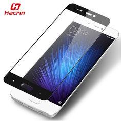 hacrin Xiaomi Mi5 Tempered Glass Color Full Cover Screen Protector Film Guard For Xiaomi Mi 5 M5 Mobile Phone - In Stock //Price: $0.00//     #onlineshop