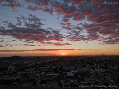 Uno de los maravillosos atardeceres de los que podemos disfrutar en la cuidad del Sol, Hermosillo, Sonora...