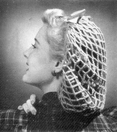 INSTANT DOWNLOAD 1943 Perky Snood Vintage Crochet by annalaia