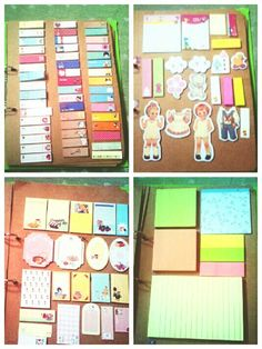 A simple way to organize sticky notes