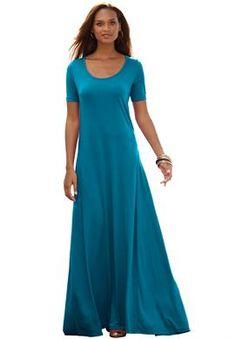 Plus Size Tall T-Shirt Maxi Dress | Plus Size Dresses & Suits | Jessica London