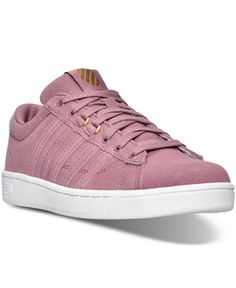 K-Swiss Women's Hoke Fantasy Suede CMF Casual Sneakers from Finish Line - Finish Line Athletic Shoes - Shoes - Macy's