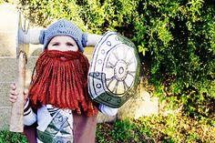 Little boy Viking costume? Umm yes please!