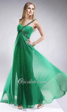 Vestiti da sera verde smeraldo