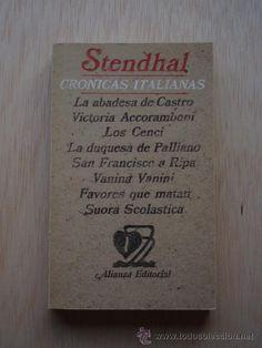 La tarde del viernes 23 de enero celebramos y leemos a Henri Beyle, Stendhal