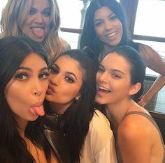 Kim, Khloe, Kylie, Kourtney + Kendall
