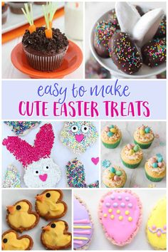 Easter is almost here, but you still have time to make these cute Easter treats. Your kids will love all these sweet surprises... and they'll love making them with you!Many families celebrate Easter in different … Tasty Dishes, Food Dishes, Holiday Themes, Easter Treats, Host A Party, Mom Blogs, Have Time, Families, Good Food