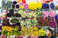 Explosion of color! #flowers #florals #colors #bouquets