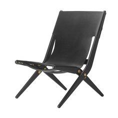 Saxe taitettava tuoli, musta