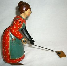 Vintage Tin Windup Toy Busy Lizzie D R P A Made in Germany Wind Up Litho | eBay