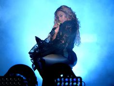 Beyonce performs during the 'On The Run Tour: Beyonce And Jay-Z' at MetLife Stadium on July 11, 2014 in East Rutherford, New Jersey.