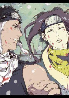 Naruto » Fanart + <3 | Zabuza and Haku, Death | #zabuza #haku