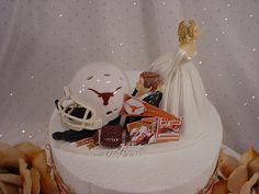Texas Longhorns Anxious bride pulling Groom by splendorlocity