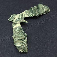 Dollar Bill Money Origami EAGLE IN FLIGHT
