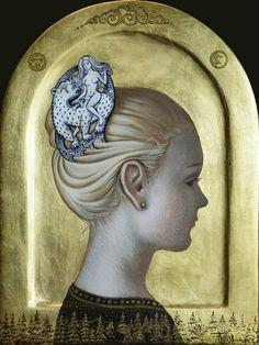 Olga and Aleksey Ivanov ~ Egg tempera painters   Tutt'Art@   Pittura * Scultura * Poesia * Musica  