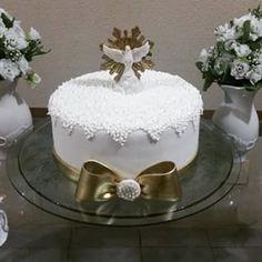 bolo de batizado com espirito santo - Pesquisa Google