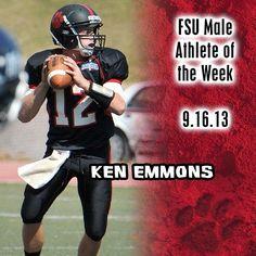 Instagram user @frostburgsports is proud of our FSU Male Athlete of the Week, Ken Emmons. #instaFrostburg #bobcatpride