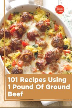 Here's what to do with a pound of ground beef so it never gets boring! Grilled Cabbage, Fresh Tomato Recipes, Dinner Is Served, Healthy Side Dishes, Meals For The Week, Other Recipes, Recipe Using, Ground Beef, Main Dishes