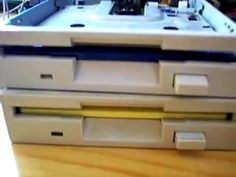 2 floppy disk drives play the Imperial March. Impressive.
